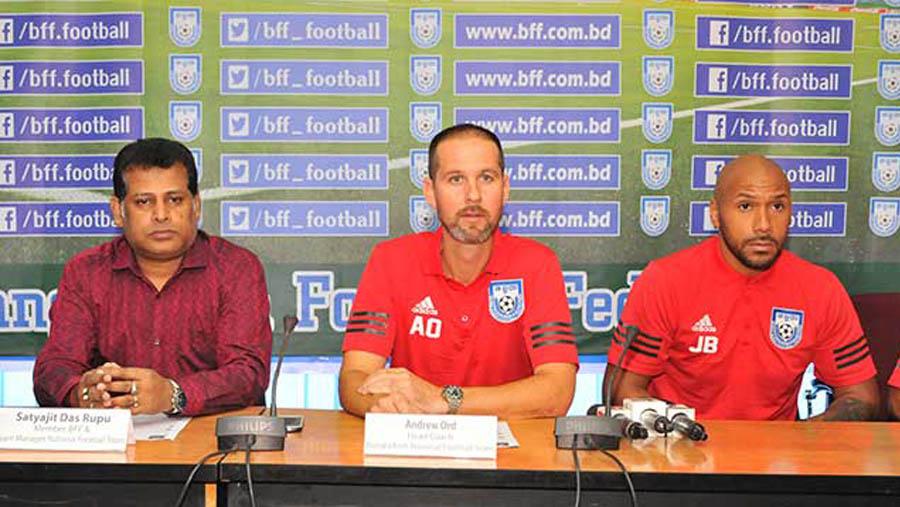 বুধবার কাতার যাচ্ছে বাংলাদেশ ফুটবল দল