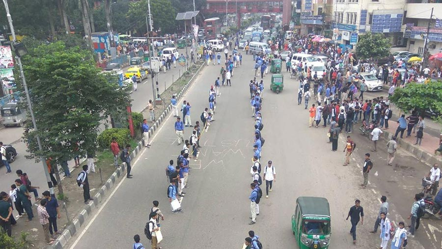 এখনাে গণপরিবহন-শূন্য রাজধানী