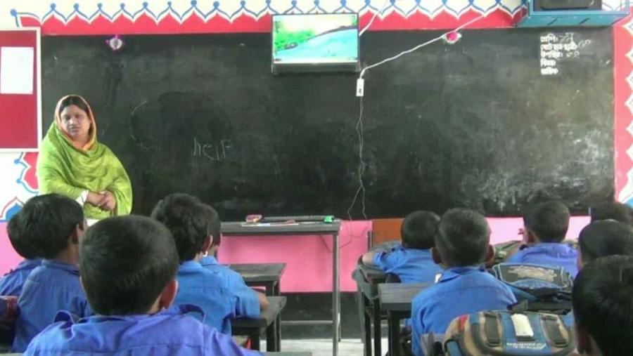 চুয়াডাঙ্গায় চালু হলো বাংলাদেশের প্রথম 'স্মার্ট স্কুল'