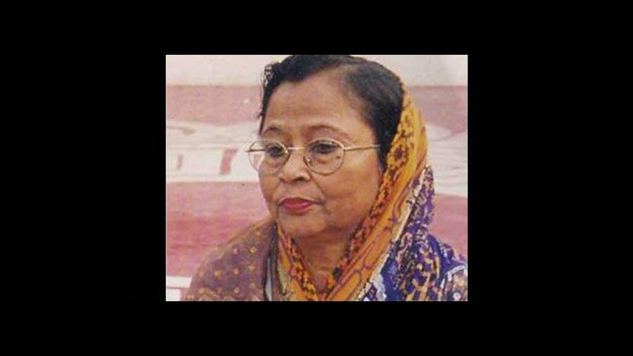 আশরাফুন্নেছা মোশাররফের ইন্তেকাল