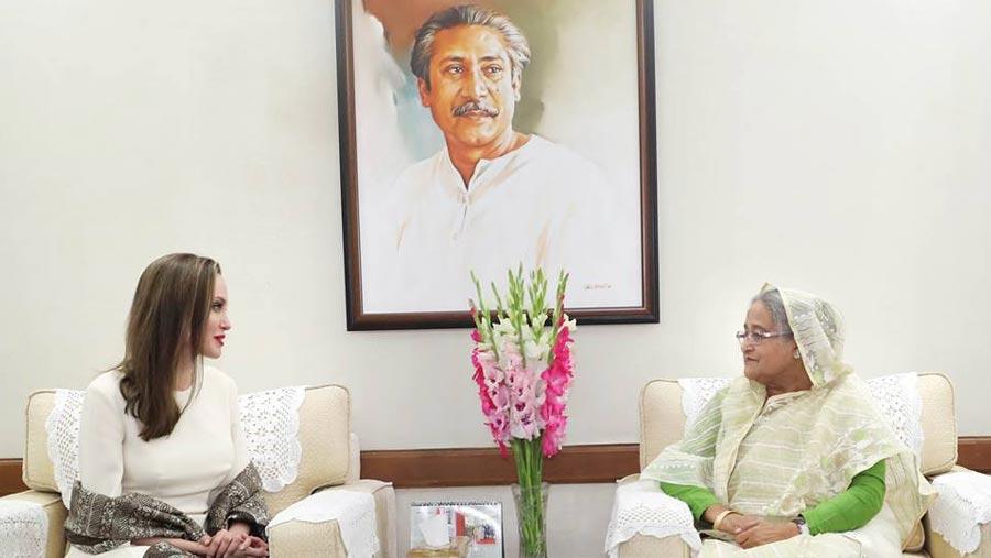 শেখ হাসিনা বিশ্বে দৃষ্টান্ত স্থাপনকারী নেতা: জোলি