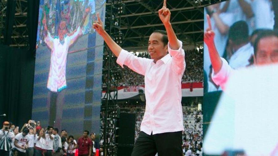 উইদোদো টানা দু'বার ইন্দোনেশিয়ার রাষ্ট্রপতি নির্বাচিত