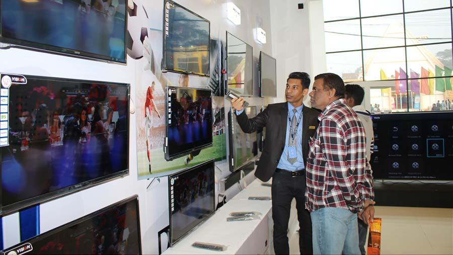 পুরোনো টিভি বদলে ভিশন দিচ্ছে নতুন টিভি