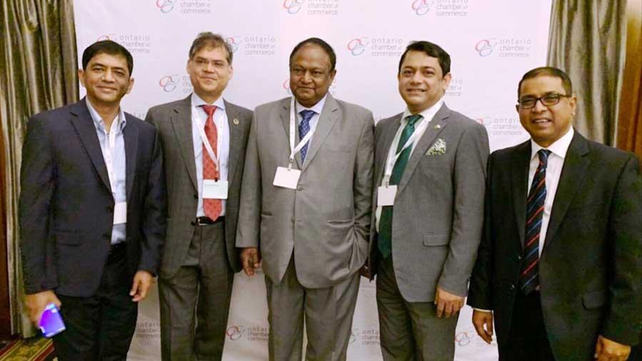 বাংলাদেশ-কানাডা বাণিজ্য ফোরামে অংশ নিয়েছে বেসিস