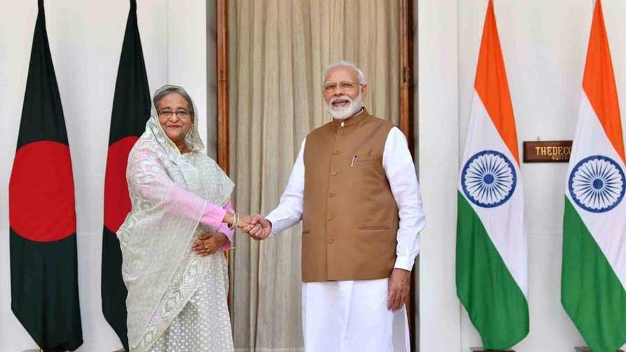 বাংলাদেশ-ভারতের মধ্যে সাতটি চুক্তি স্বাক্ষরিত