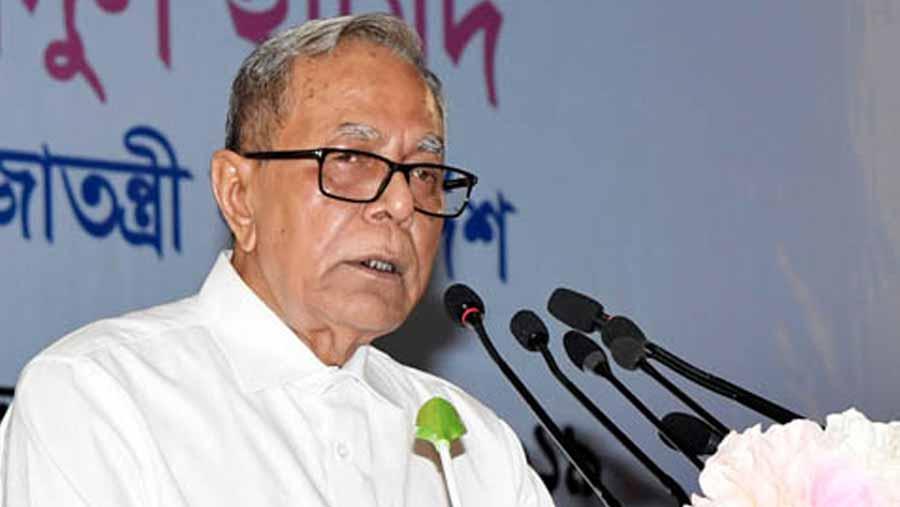 দুর্নীতিবাজ যতো বড়ই হোক, পার পাবে না: রাষ্ট্রপতি