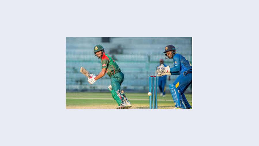 শ্রীলঙ্কা 'এ' দলের বিপক্ষে সিরিজ জিতলো বাংলাদেশ