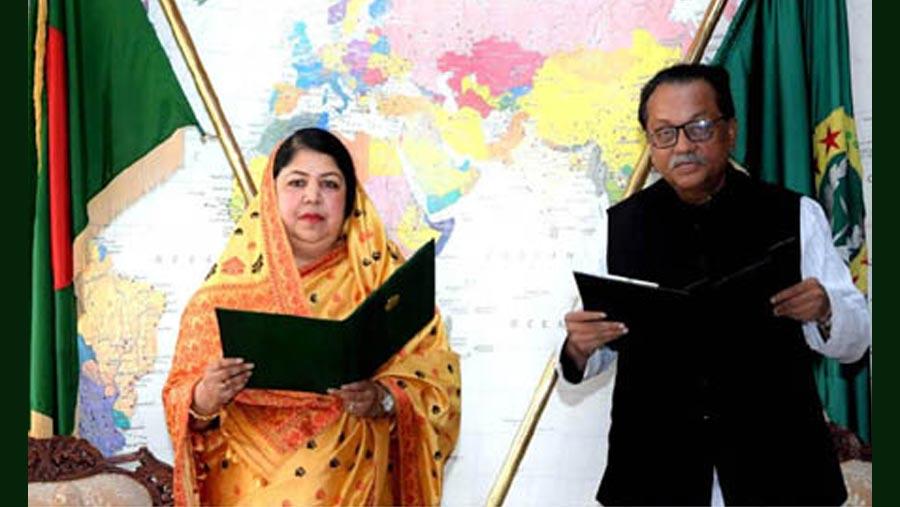 চট্টগ্রাম-৮ এমপি মোছলেম উদ্দিনের শপথ গ্রহণ