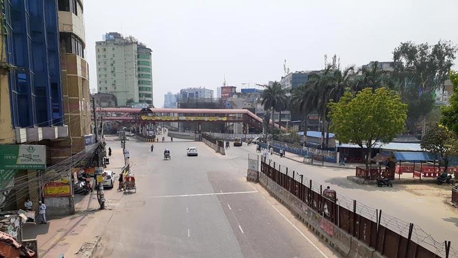 ঢাকা এখন নীরব শহর