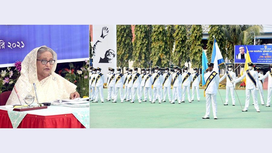 দেশের ভাবমূর্তি উজ্জ্বল করতে হবে: মেরিন গ্রাজুয়েটদের প্রতি প্রধানমন্ত্রী
