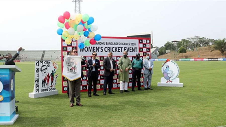 বঙ্গবন্ধু বাংলাদেশ গেমসের নারী ক্রিকেট পর্ব শুরু