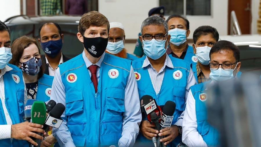 বাংলাদেশকে আরও ২.৫ মিলিয়ন ফাইজা'র টিকা দিয়েছে যুক্তরাষ্ট্র